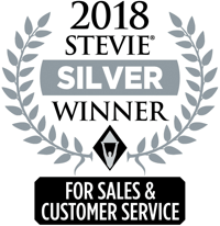 2018 Stevie Silver Winner Award